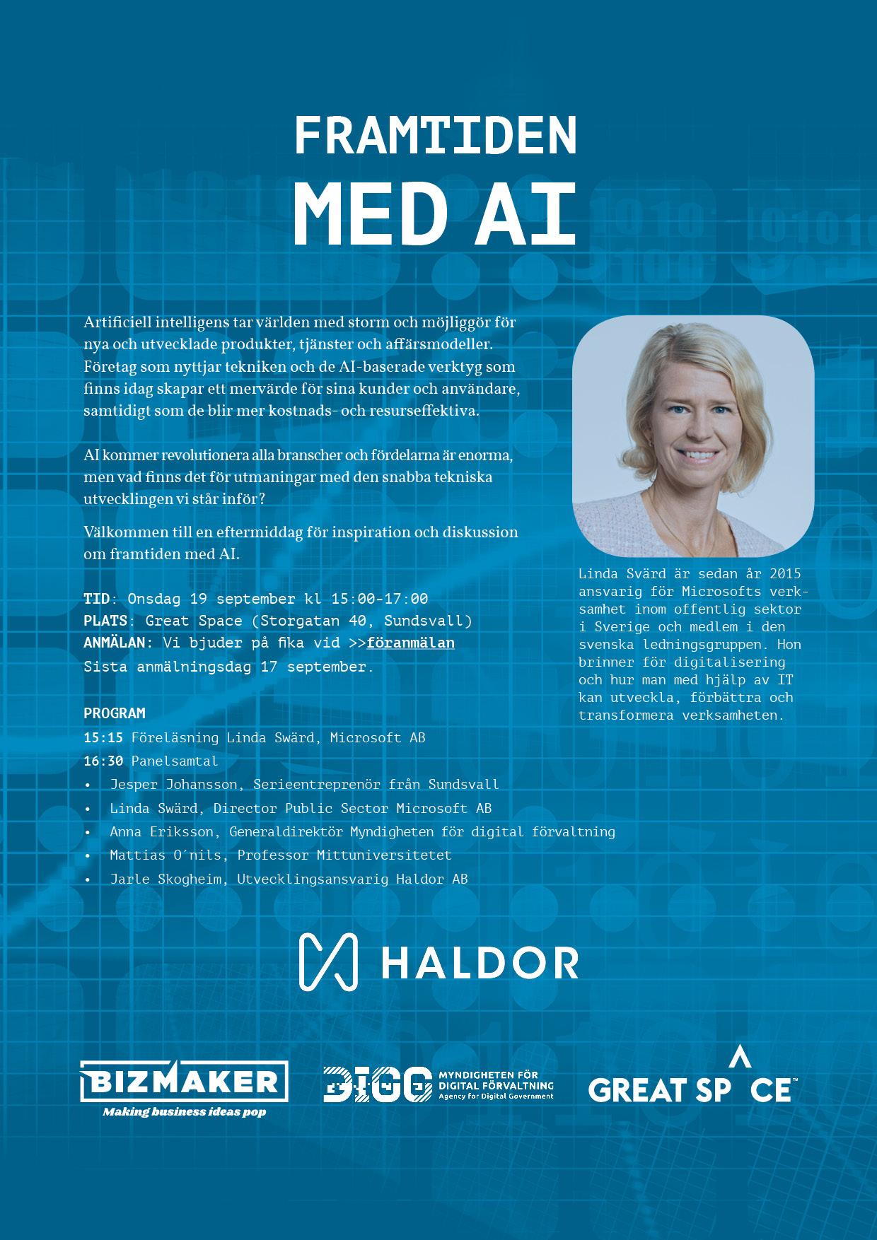 Inbjudan - Framtiden med AI